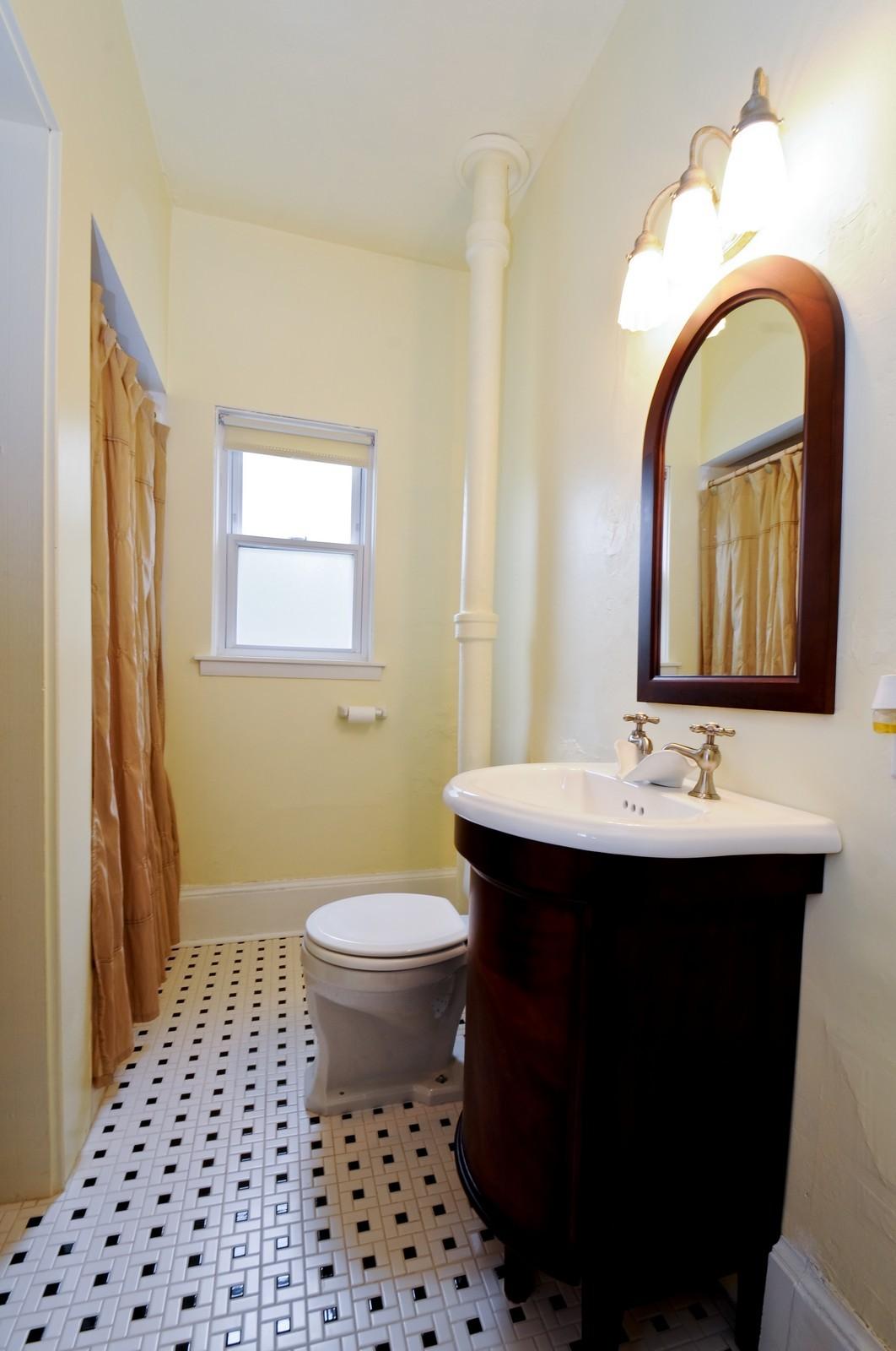 Real Estate Photography - 116 N Wolcott, Thornton, IL, 60476 - Bathroom