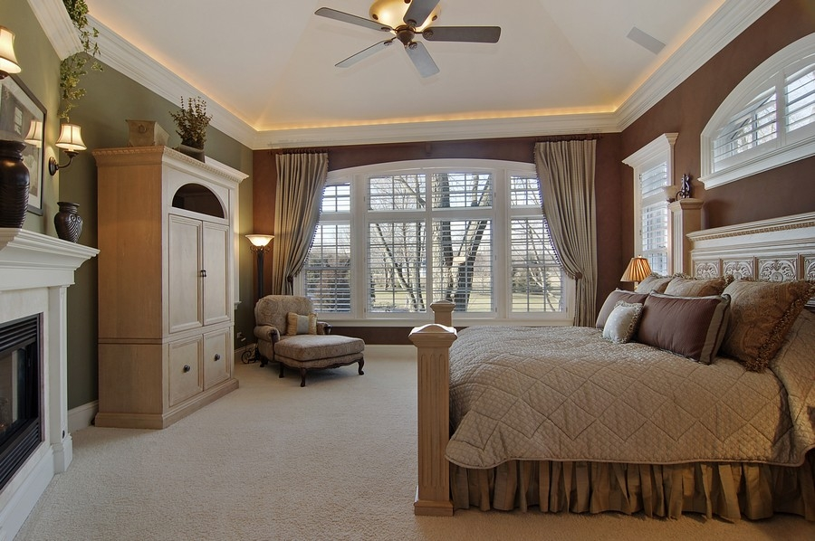 Real Estate Photography - 8S235 Murray Dr, Naperville, IL, 60540 - Master Bedroom