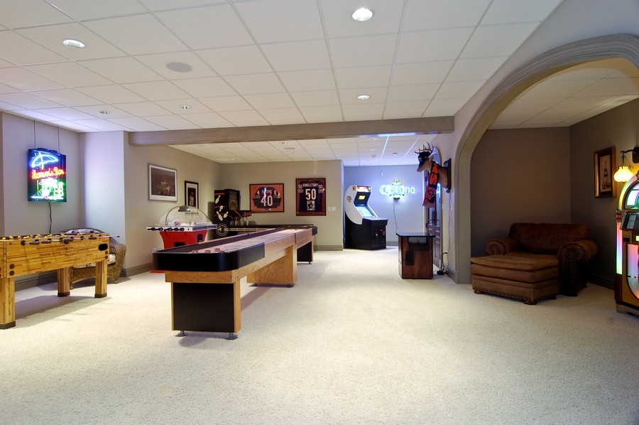 Real Estate Photography - 8S235 Murray Dr, Naperville, IL, 60540 - Gameroom
