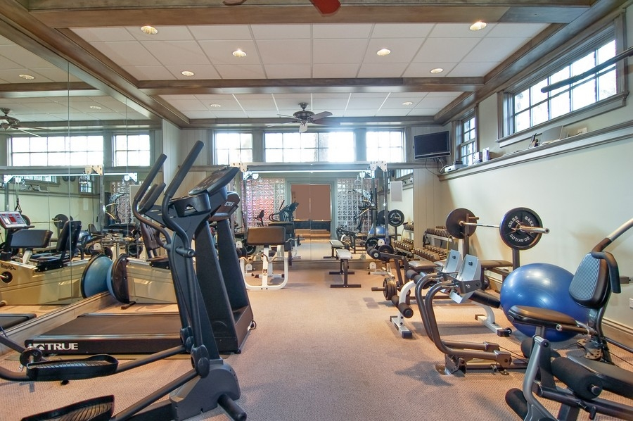 Real Estate Photography - 8S235 Murray Dr, Naperville, IL, 60540 - Exercise Room