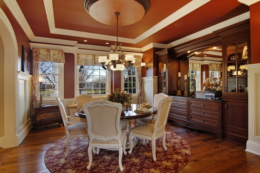 Real Estate Photography - 8S235 Murray Dr, Naperville, IL, 60540 - Dining Room