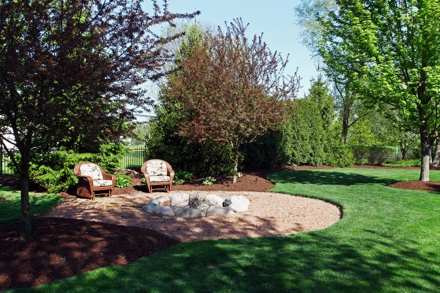 Real Estate Photography - 8S235 Murray Dr, Naperville, IL, 60540 - Back Yard