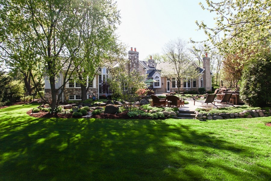 Real Estate Photography - 8S235 Murray Dr, Naperville, IL, 60540 - Rear View
