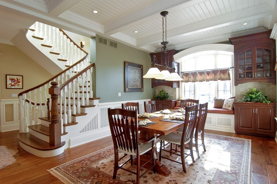 Real Estate Photography - 8S235 Murray Dr, Naperville, IL, 60540 - Eat in kitchen area