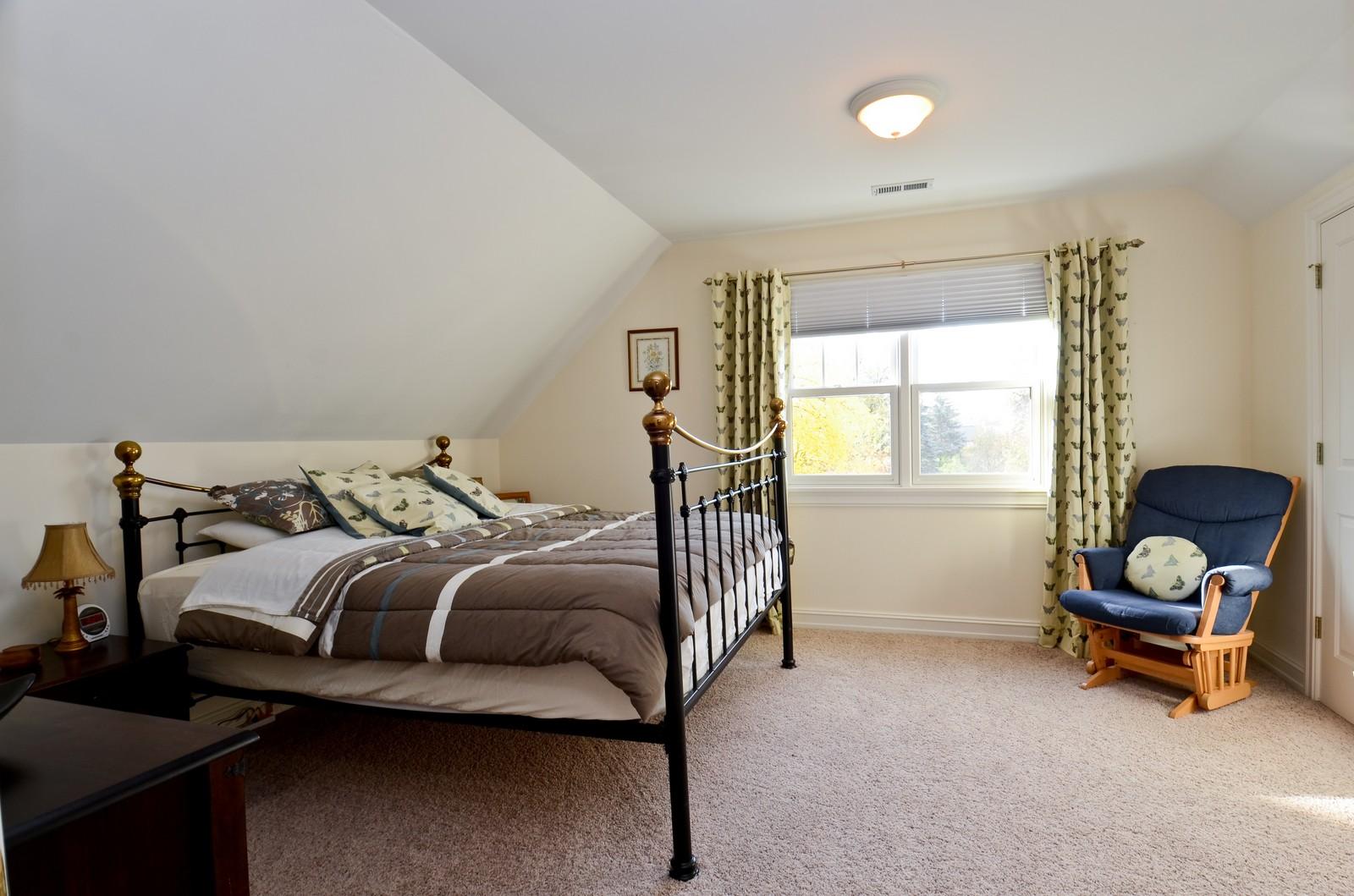 Real Estate Photography - 738 Western Ave., Glen Ellyn, IL, 60137 - Bedroom