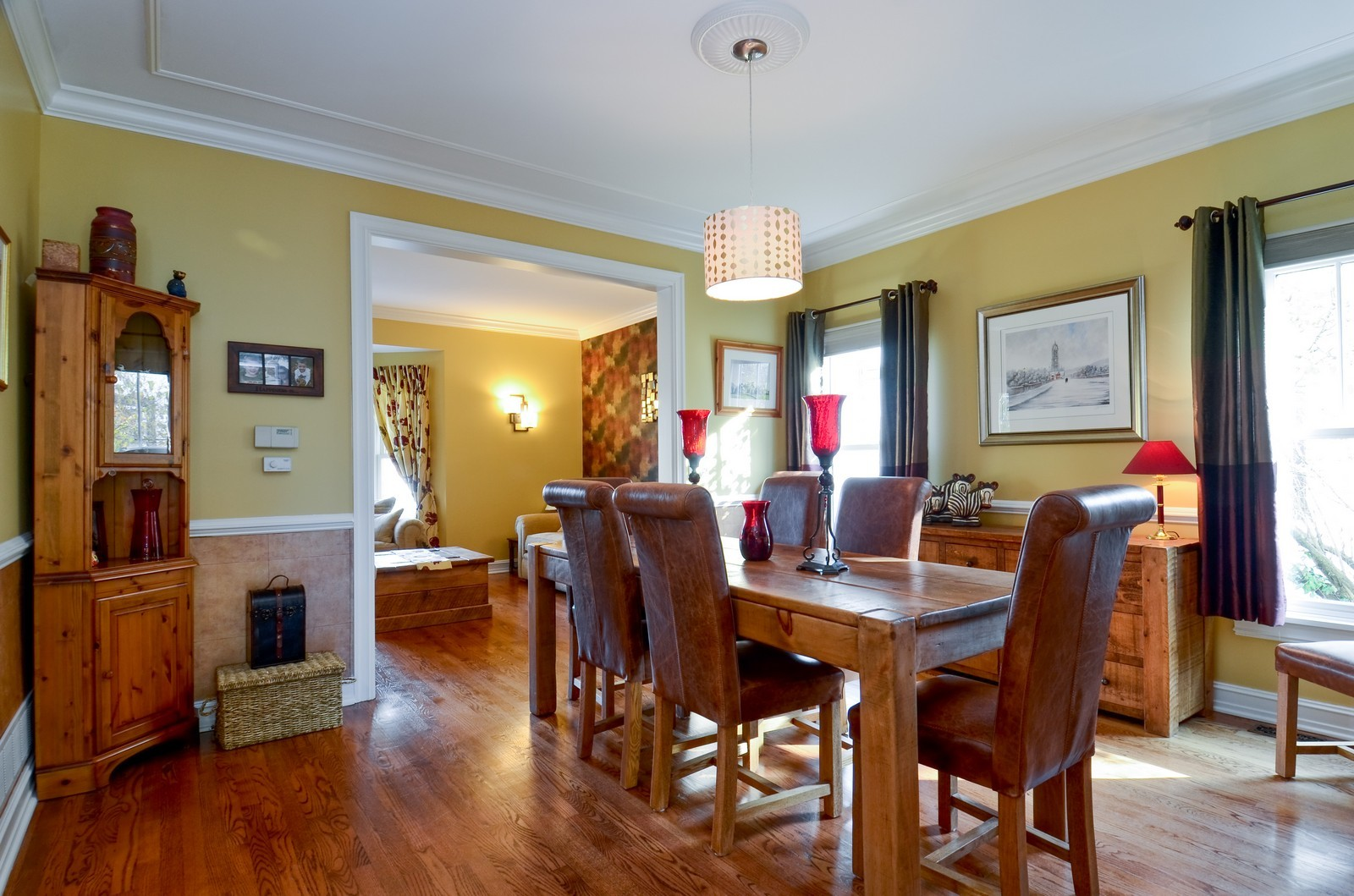 Real Estate Photography - 738 Western Ave., Glen Ellyn, IL, 60137 - Dining Room