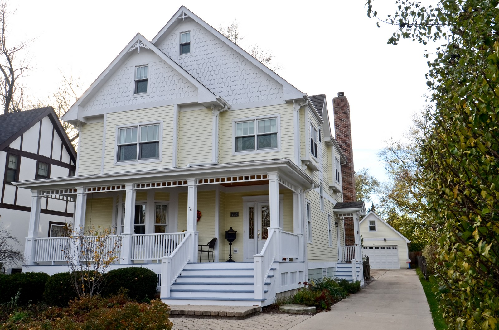 Real Estate Photography - 738 Western Ave., Glen Ellyn, IL, 60137 - Front View