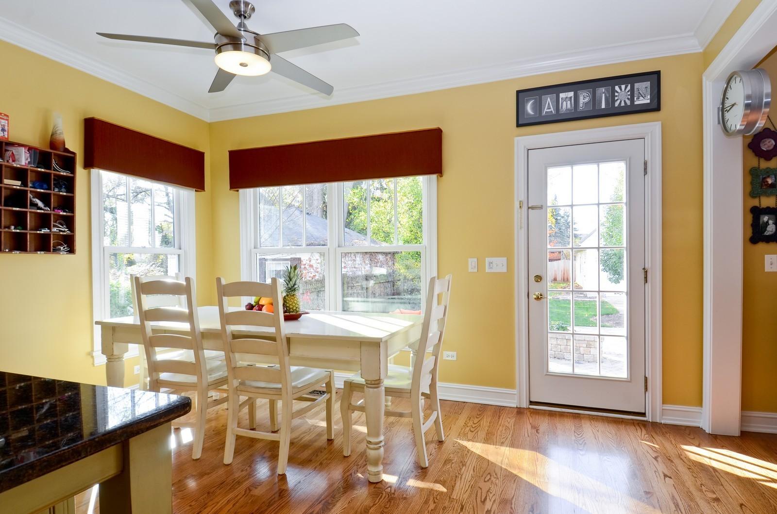 Real Estate Photography - 738 Western Ave., Glen Ellyn, IL, 60137 - Breakfast Nook