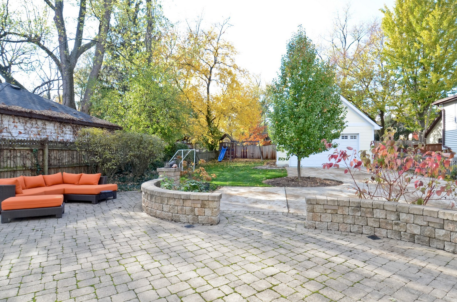 Real Estate Photography - 738 Western Ave., Glen Ellyn, IL, 60137 - Patio