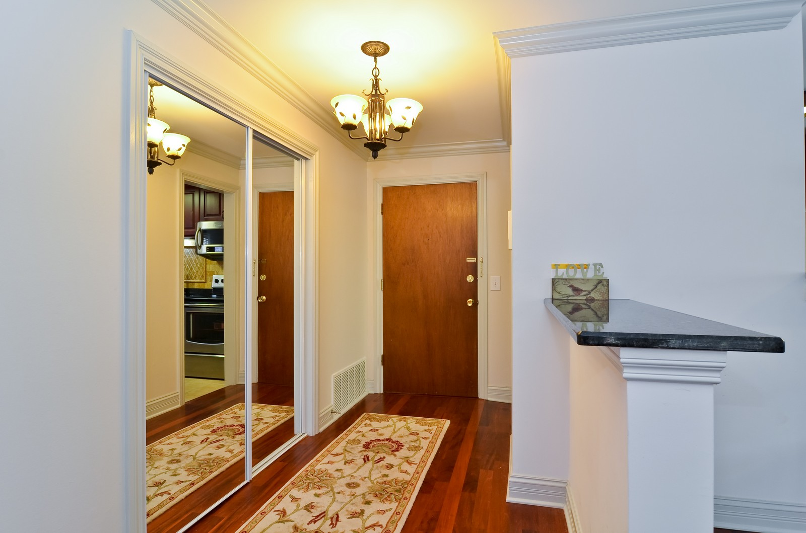 Real Estate Photography - 7861 Niles Center Rd., 201, Skokie, IL, 60077 - Foyer