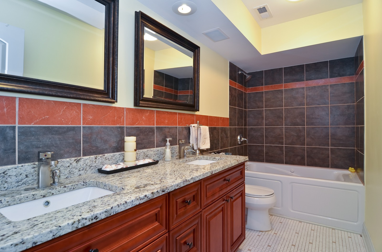 Real Estate Photography - 7861 Niles Center Rd., 201, Skokie, IL, 60077 - Bathroom