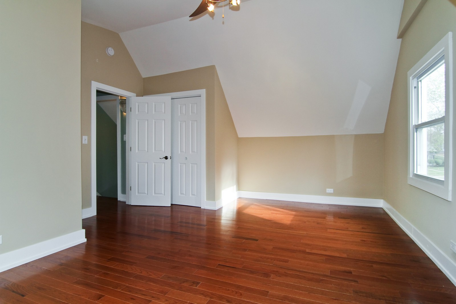 Real Estate Photography - 406 N Garfield St, Lombard, IL, 60148 - Master Bedroom