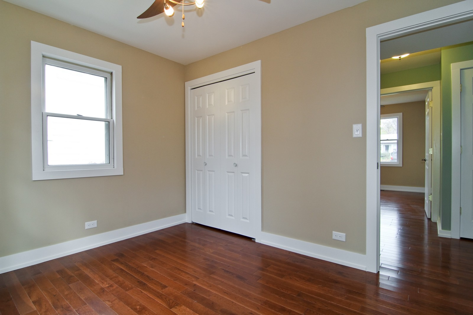 Real Estate Photography - 406 N Garfield St, Lombard, IL, 60148 - 2nd Bedroom