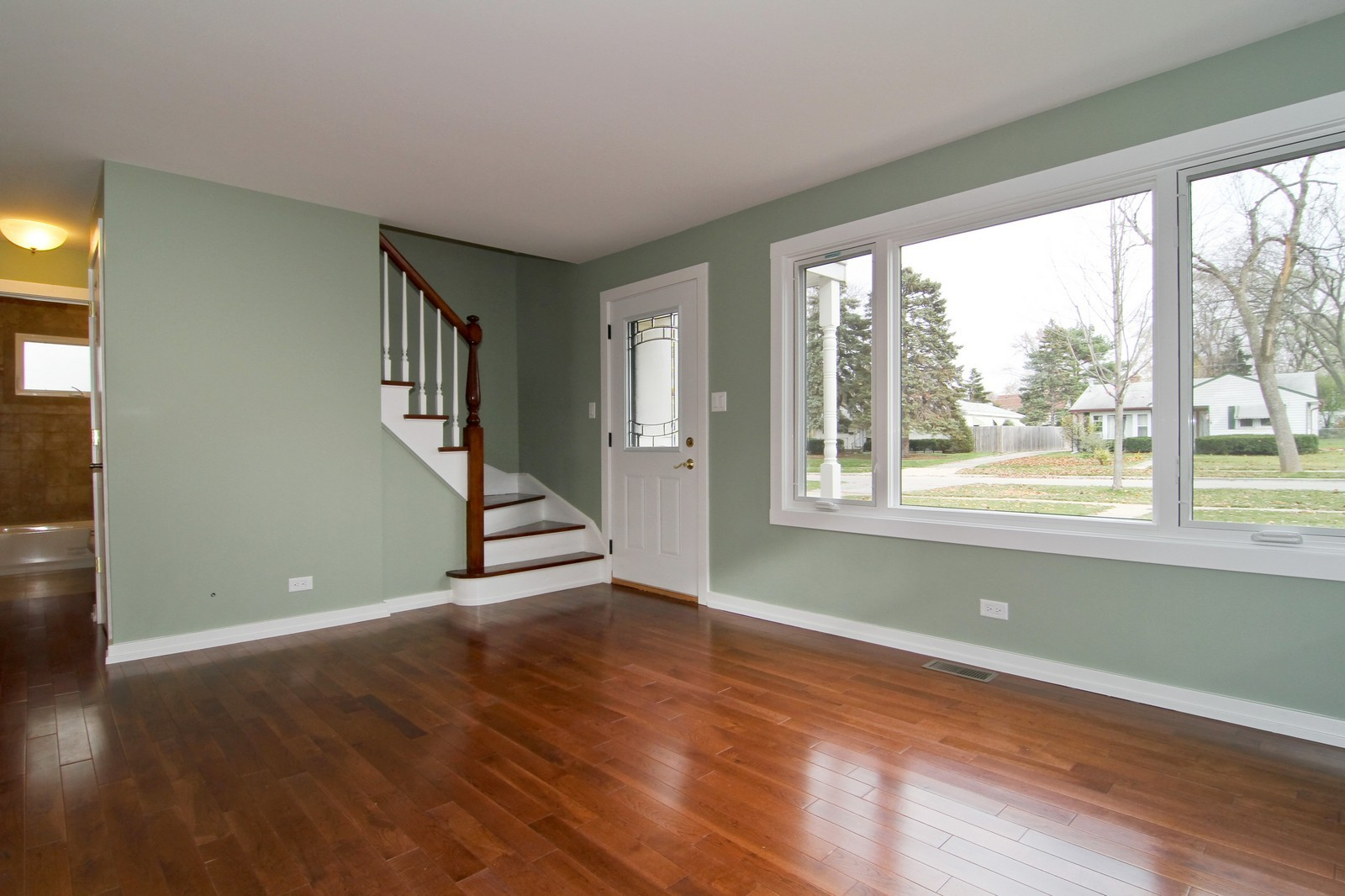 Real Estate Photography - 406 N Garfield St, Lombard, IL, 60148 - Living Room