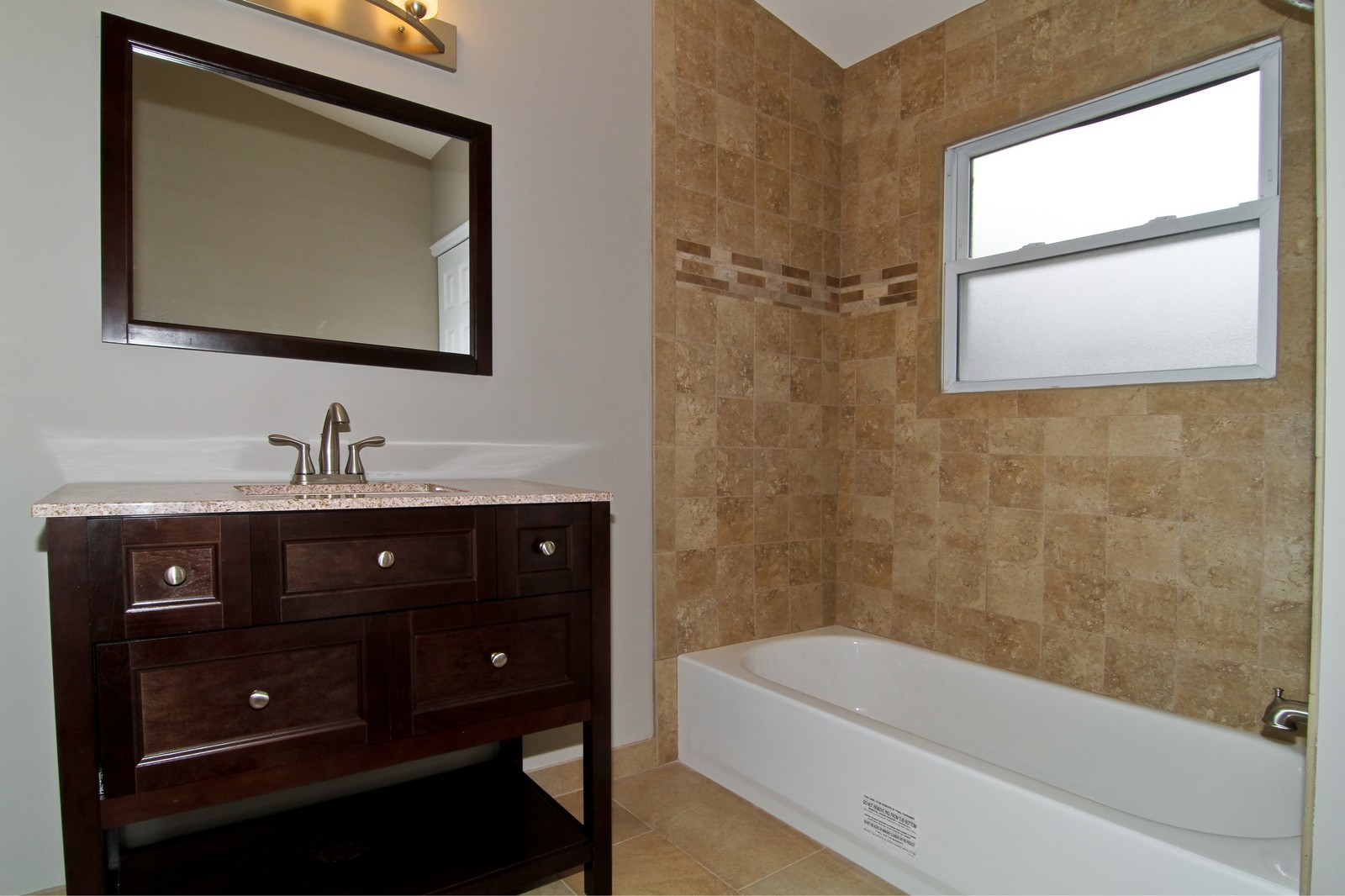 Real Estate Photography - 406 N Garfield St, Lombard, IL, 60148 - 2nd Bathroom