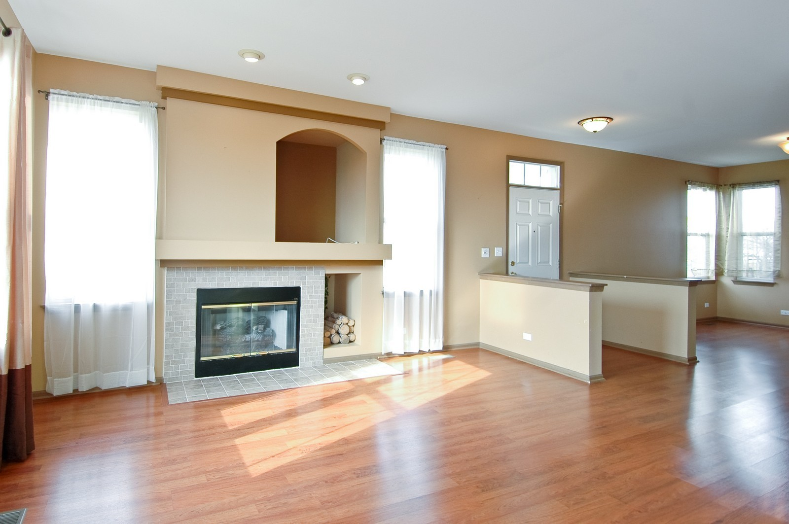 Real Estate Photography - 2988 Langston, St Charles, IL, 60175 - Living Room / Dining Room