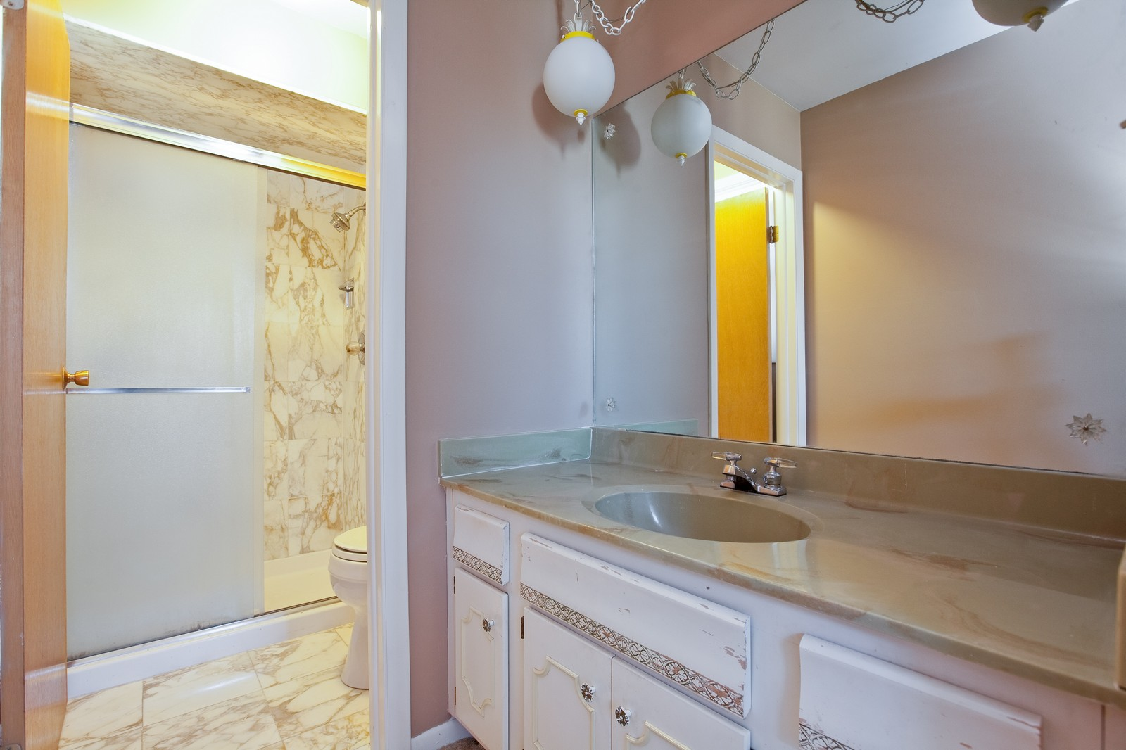 Real Estate Photography - 1330 68th Place, Downers Grove, IL, 60516 - Master Bathroom