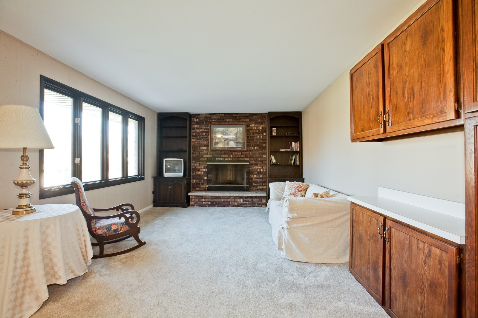 Real Estate Photography - 1330 68th Place, Downers Grove, IL, 60516 - Family Room