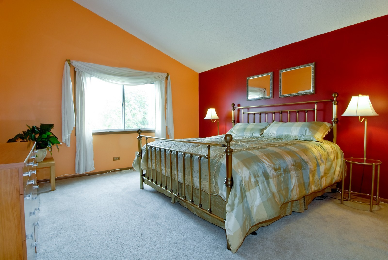 Real Estate Photography - 2610 Homestead Dr, Naperville, IL, 60564 - Master Bedroom