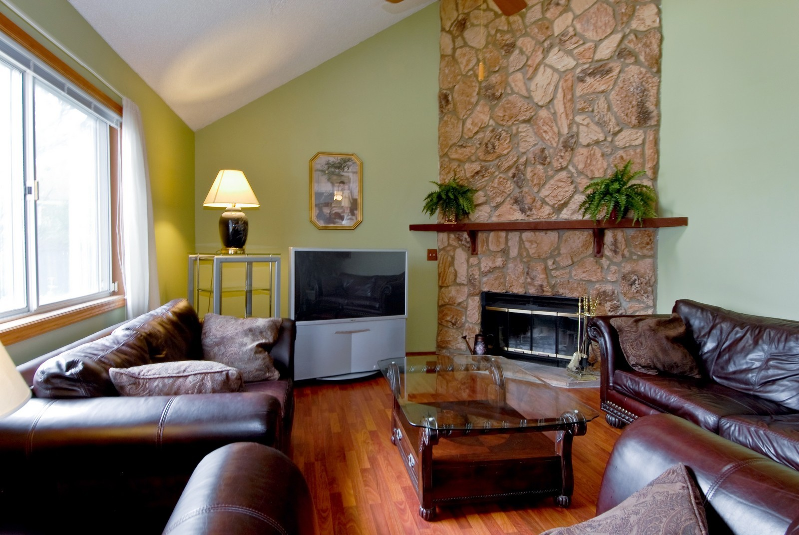 Real Estate Photography - 2610 Homestead Dr, Naperville, IL, 60564 - Family Room