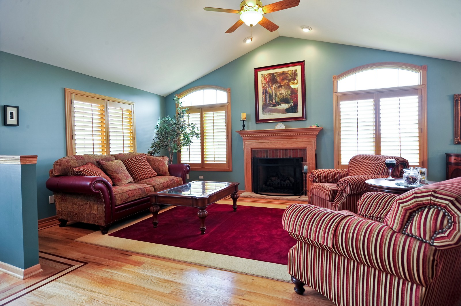 Real Estate Photography - 1153 Linden Circle, Beecher, IL, 60401 - Living Room