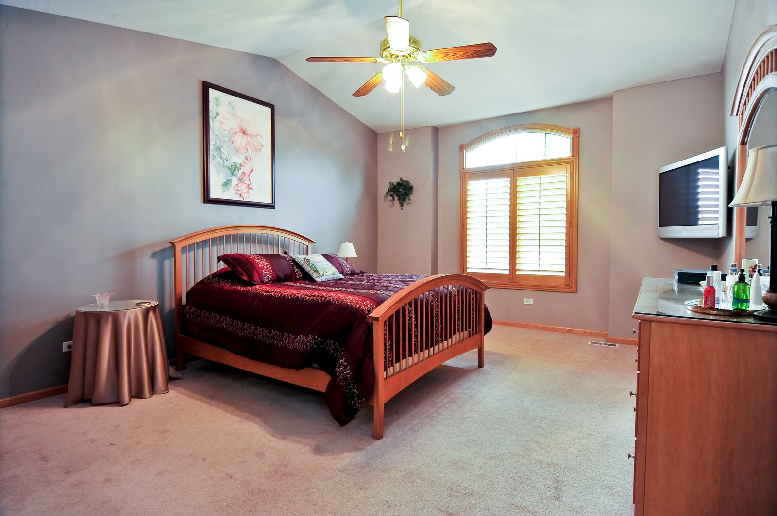 Real Estate Photography - 1153 Linden Circle, Beecher, IL, 60401 - Master Bedroom