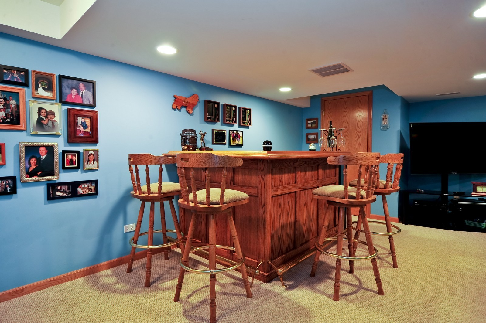 Real Estate Photography - 1153 Linden Circle, Beecher, IL, 60401 - Lower Level