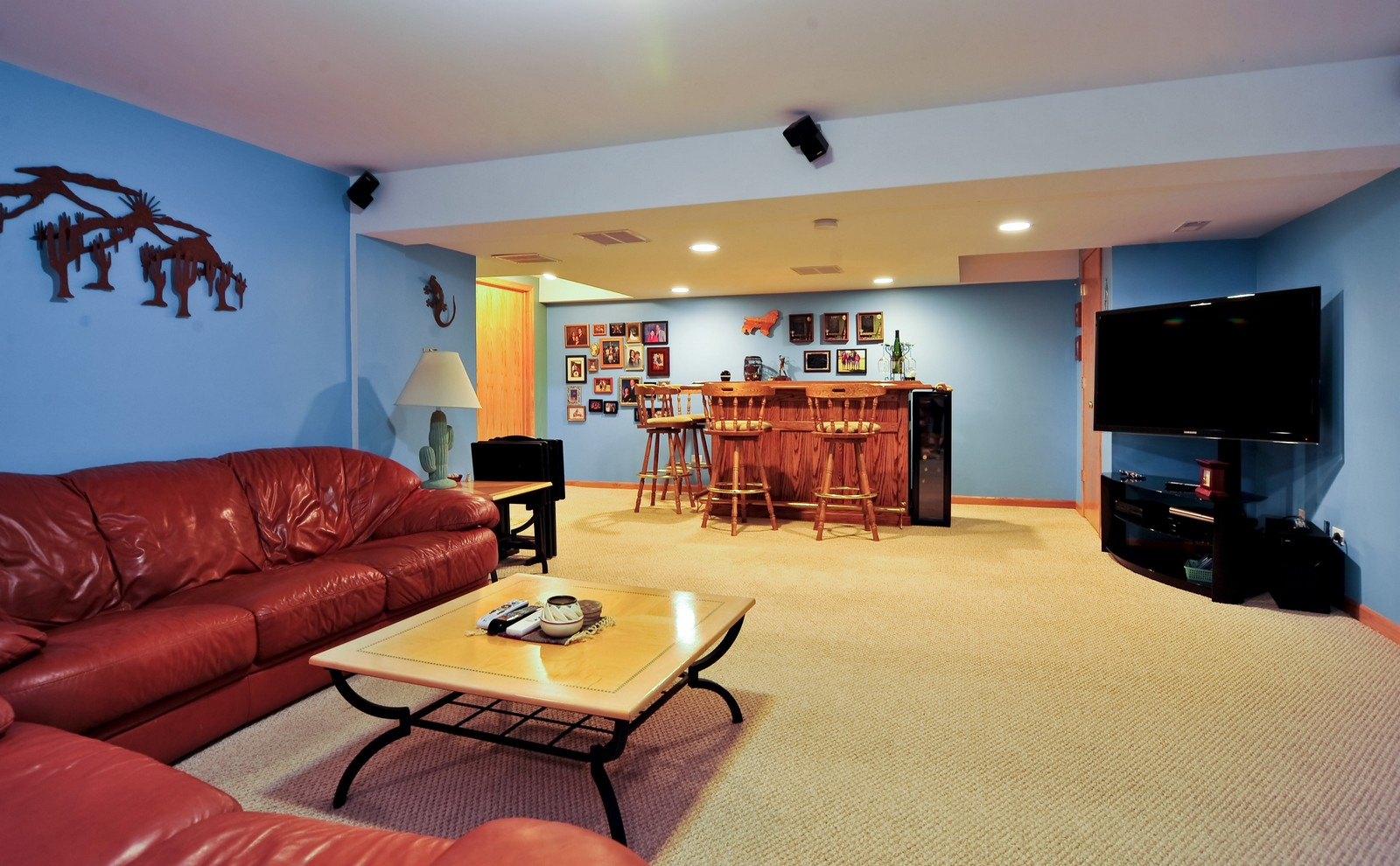 Real Estate Photography - 1153 Linden Circle, Beecher, IL, 60401 - Recreational Room