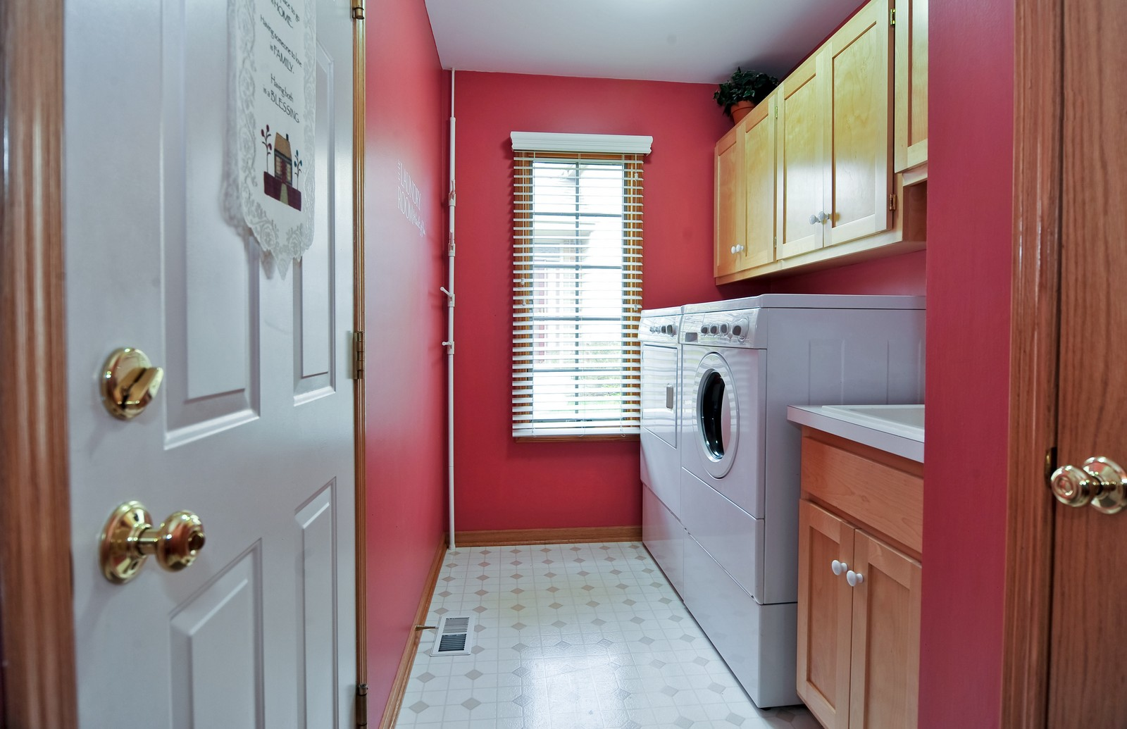 Real Estate Photography - 1153 Linden Circle, Beecher, IL, 60401 - Laundry Room
