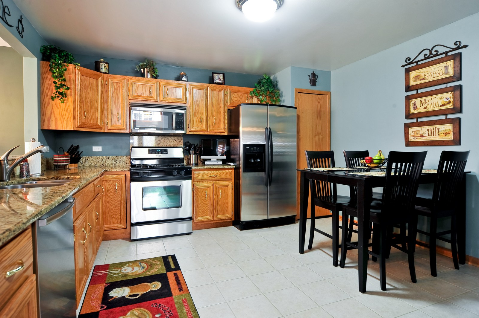 Real Estate Photography - 1153 Linden Circle, Beecher, IL, 60401 - Kitchen