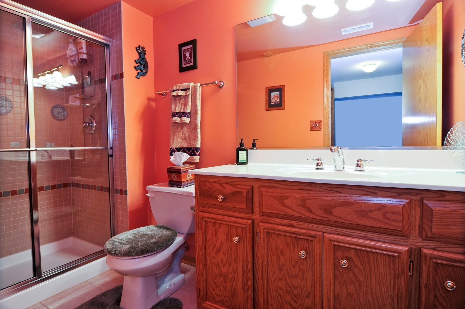 Real Estate Photography - 1153 Linden Circle, Beecher, IL, 60401 - 2nd Bathroom