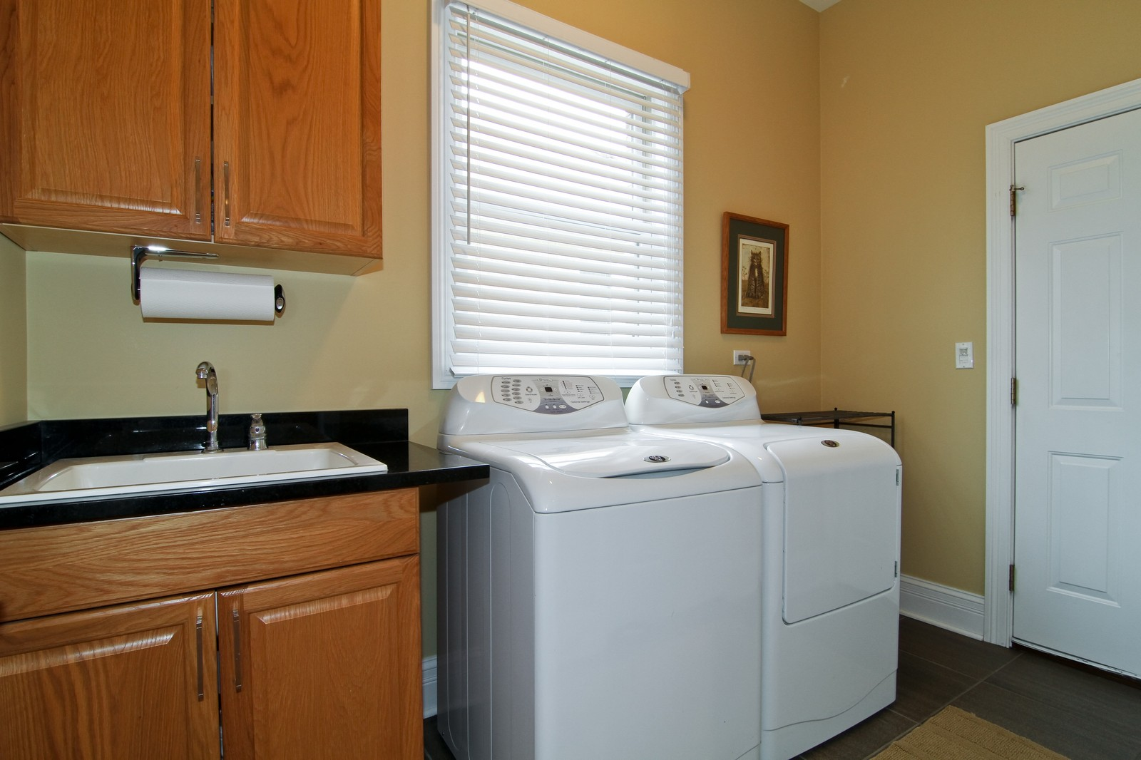 Real Estate Photography - 550 S Linden Ave, Elmhurst, IL, 60126 - Laundry Room