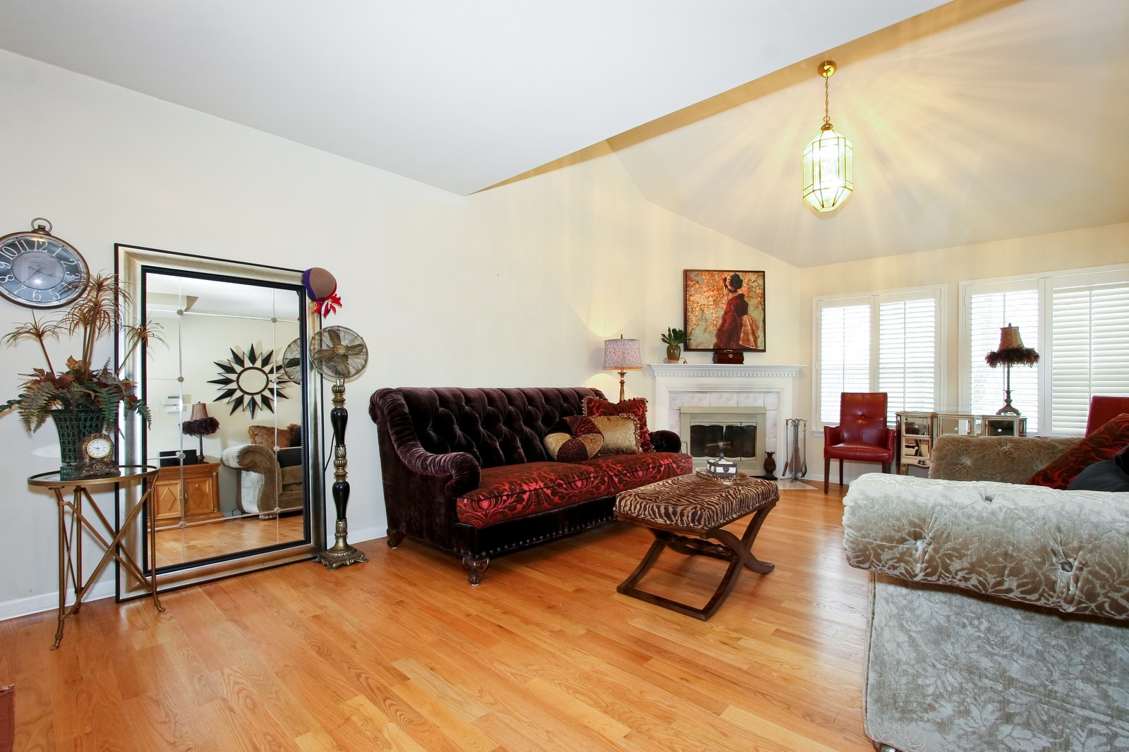 Real Estate Photography - 2637 Grove, Blue Island, IL, 60406 - Living Room