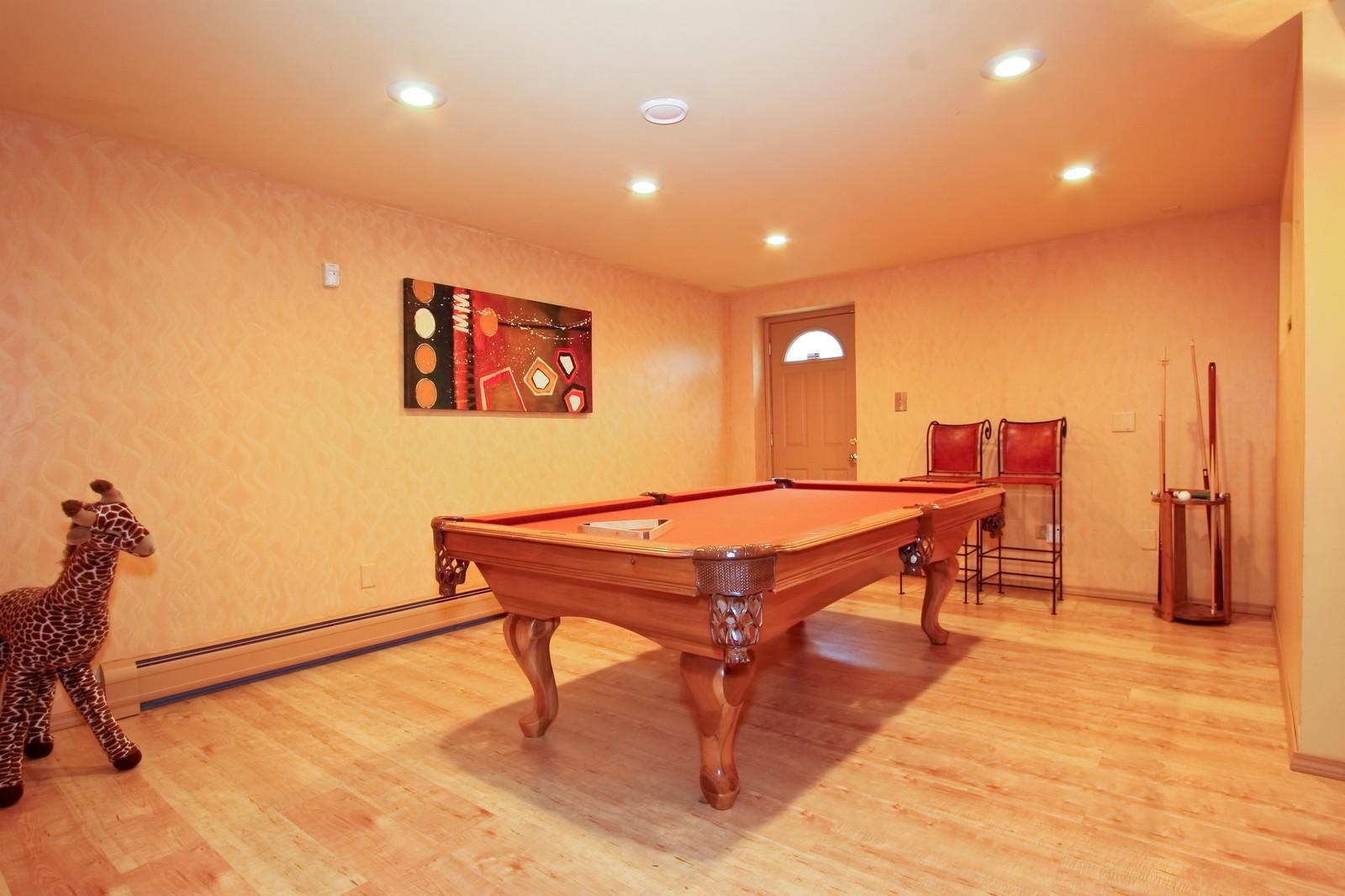Real Estate Photography - 2637 Grove, Blue Island, IL, 60406 - Gameroom