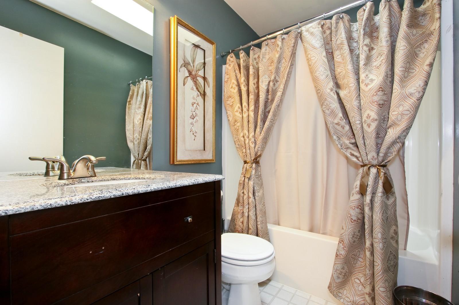 Real Estate Photography - 2637 Grove, Blue Island, IL, 60406 - Bathroom