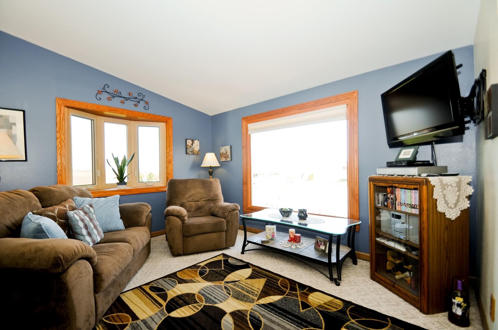 Real Estate Photography - 32606 lia lane, Beecher, IL, 60417 - Living Room