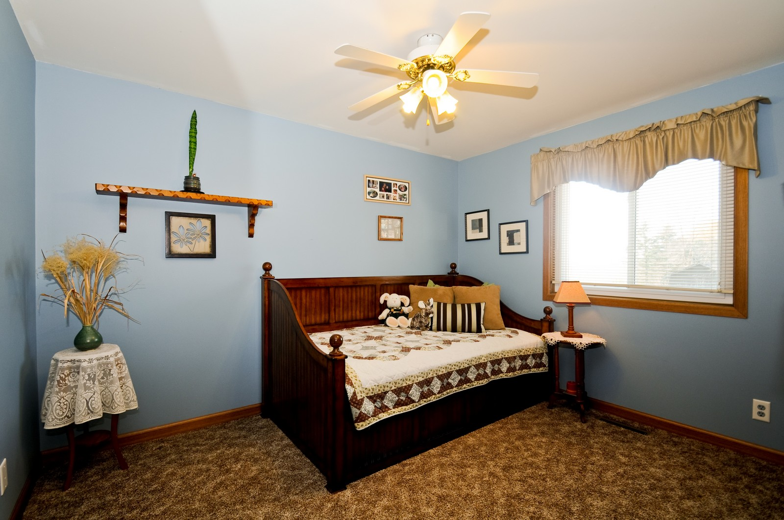Real Estate Photography - 32606 lia lane, Beecher, IL, 60417 - 2nd Bedroom
