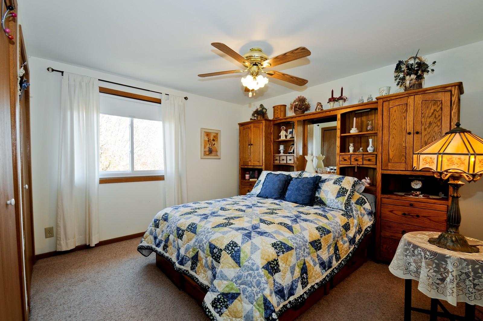 Real Estate Photography - 32606 lia lane, Beecher, IL, 60417 - Bedroom