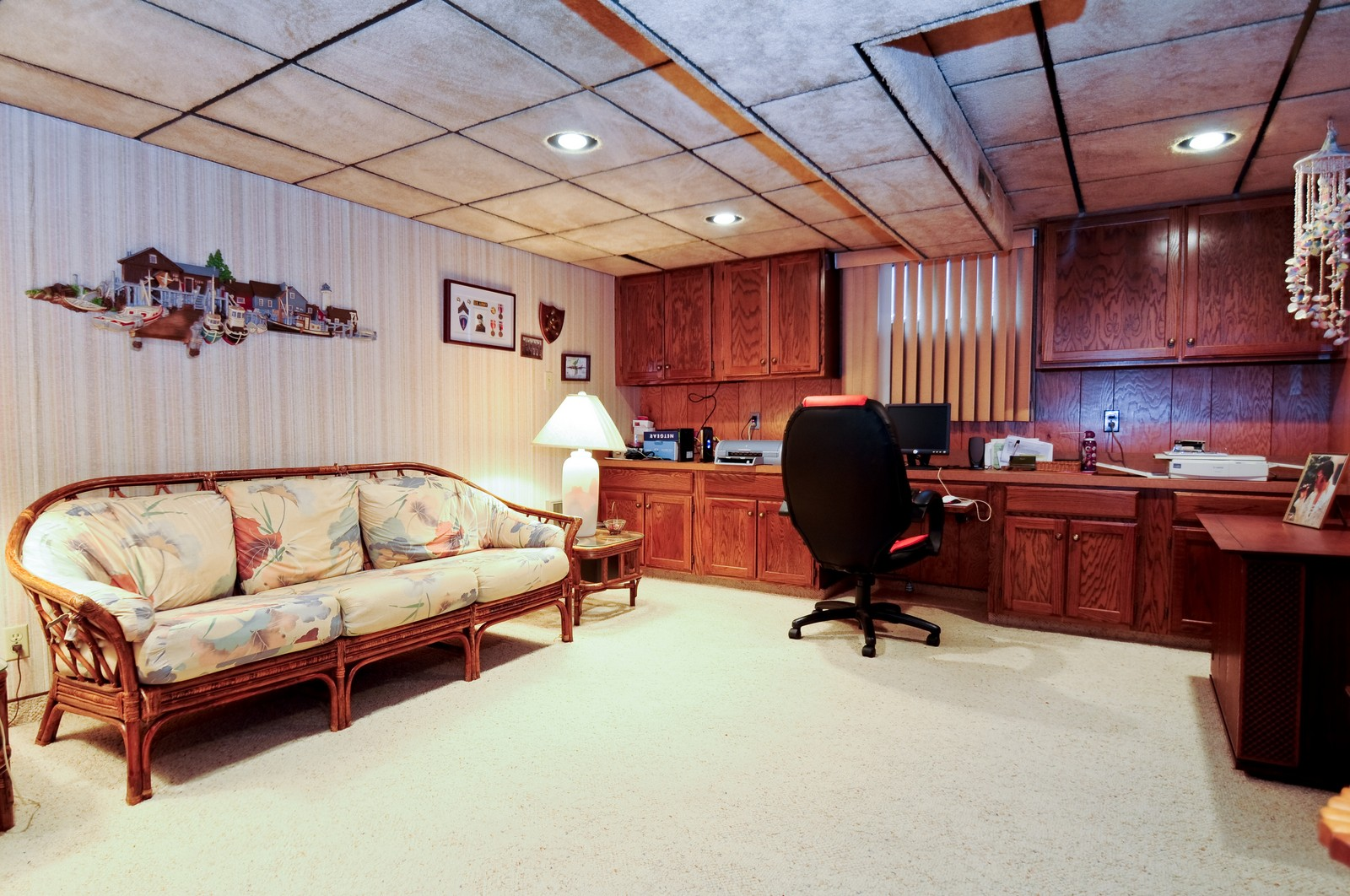 Real Estate Photography - 17837 Maple Street, Lansing, IL, 60438 - Recreational Room