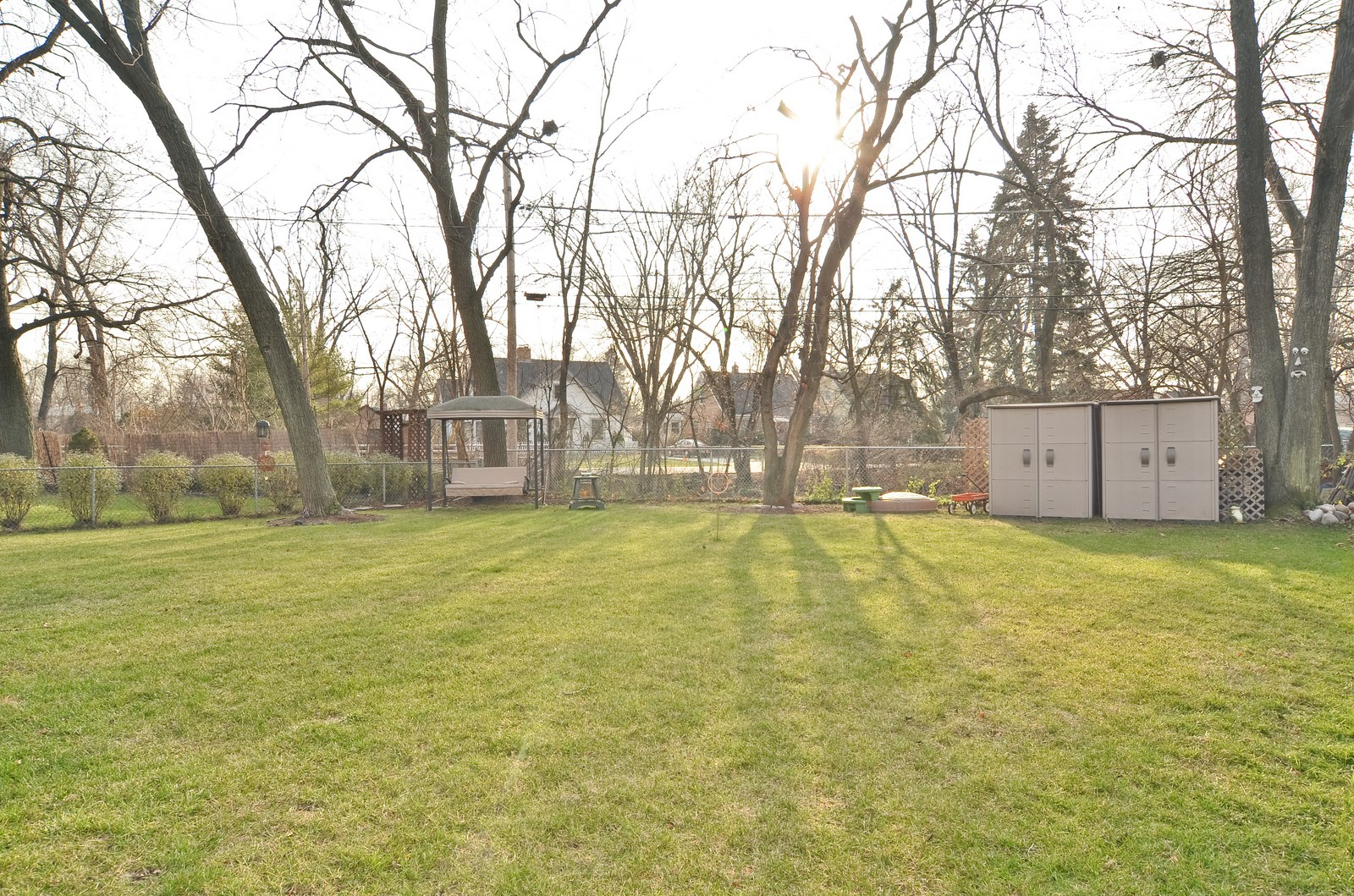 Real Estate Photography - 392 S Cumberland Parkway, Des Plaines, IL, 60016 - Back Yard