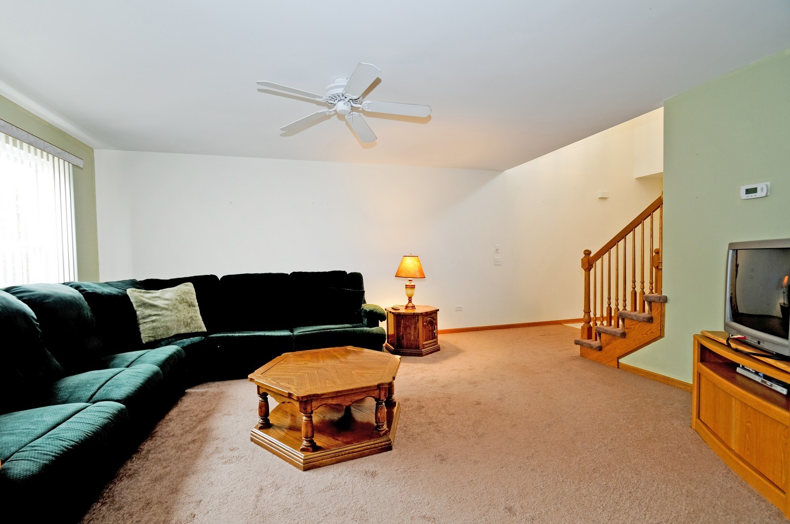 Real Estate Photography - 681 schooner, New Lenox, IL, 60451 - Living Room