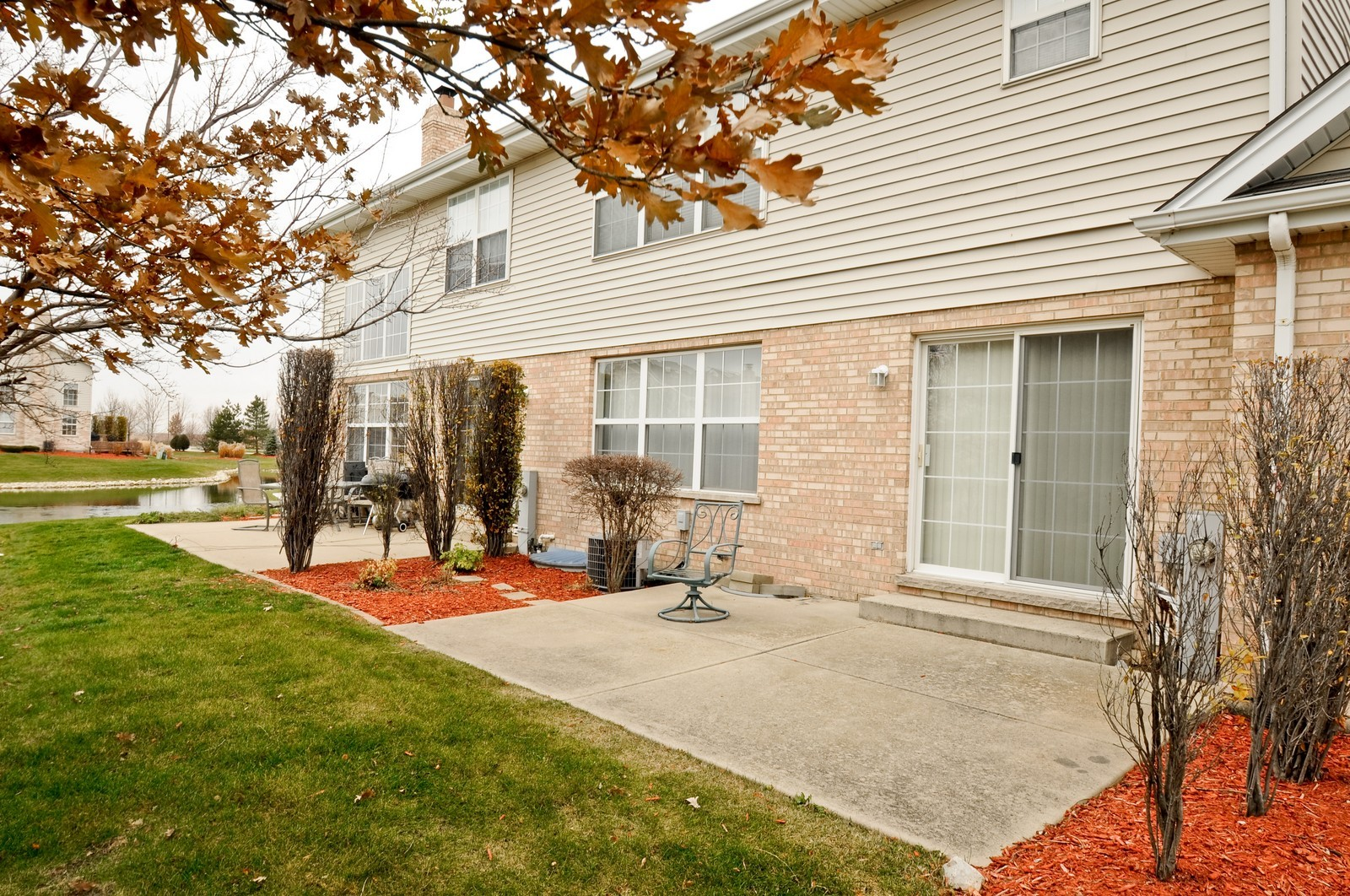 Real Estate Photography - 681 schooner, New Lenox, IL, 60451 - Patio