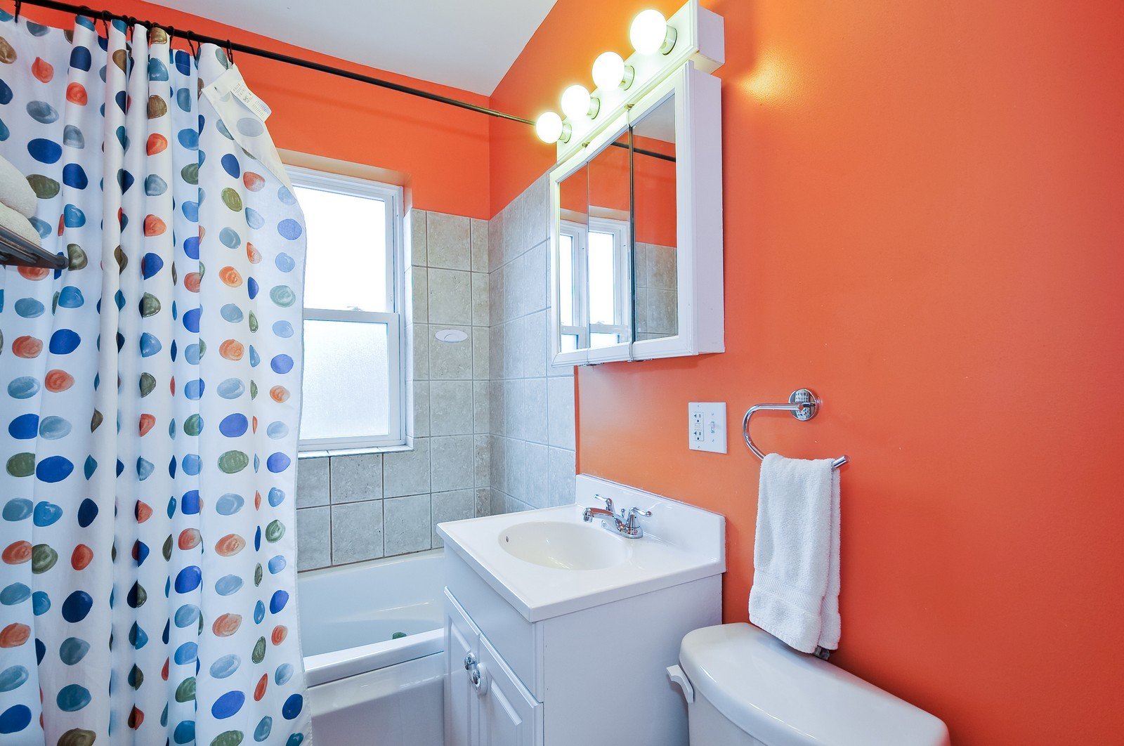 Real Estate Photography - 2552 W Rosemont, Unit 3, Chicago, IL, 60659 - Bathroom