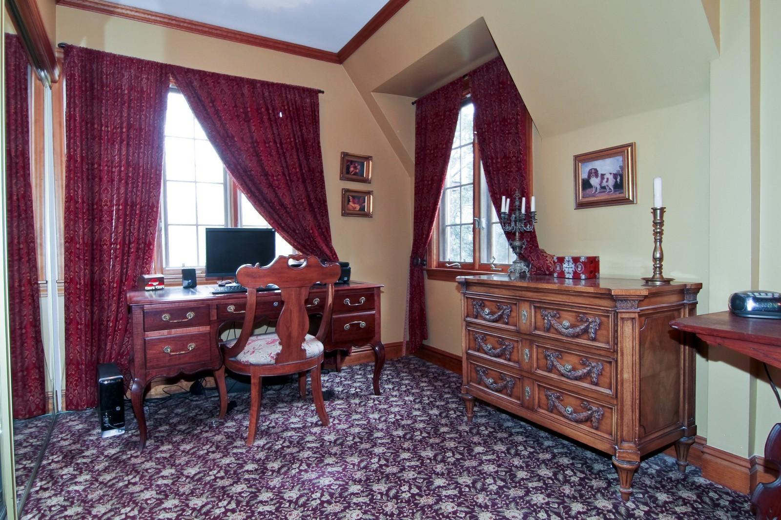 Real Estate Photography - 933 N Main, Glen Ellyn, IL, 60137 - Master Bedroom