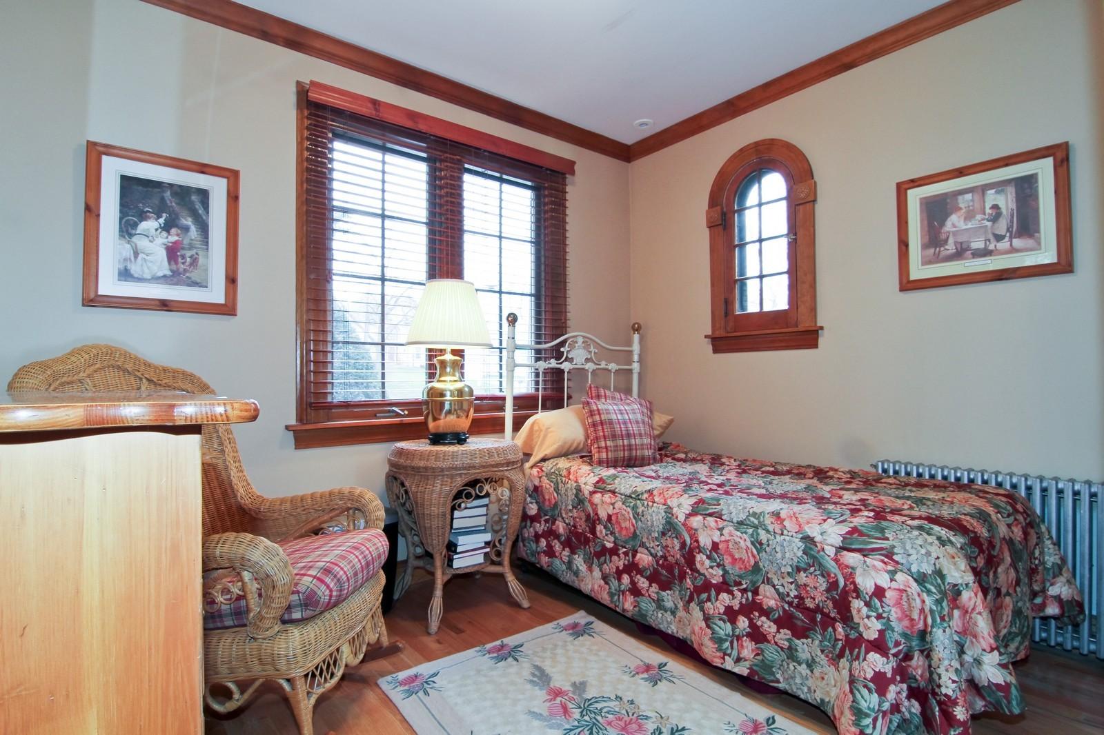Real Estate Photography - 933 N Main, Glen Ellyn, IL, 60137 - Bedroom