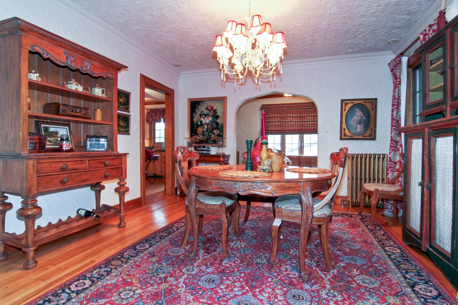 Real Estate Photography - 933 N Main, Glen Ellyn, IL, 60137 - Dining Room