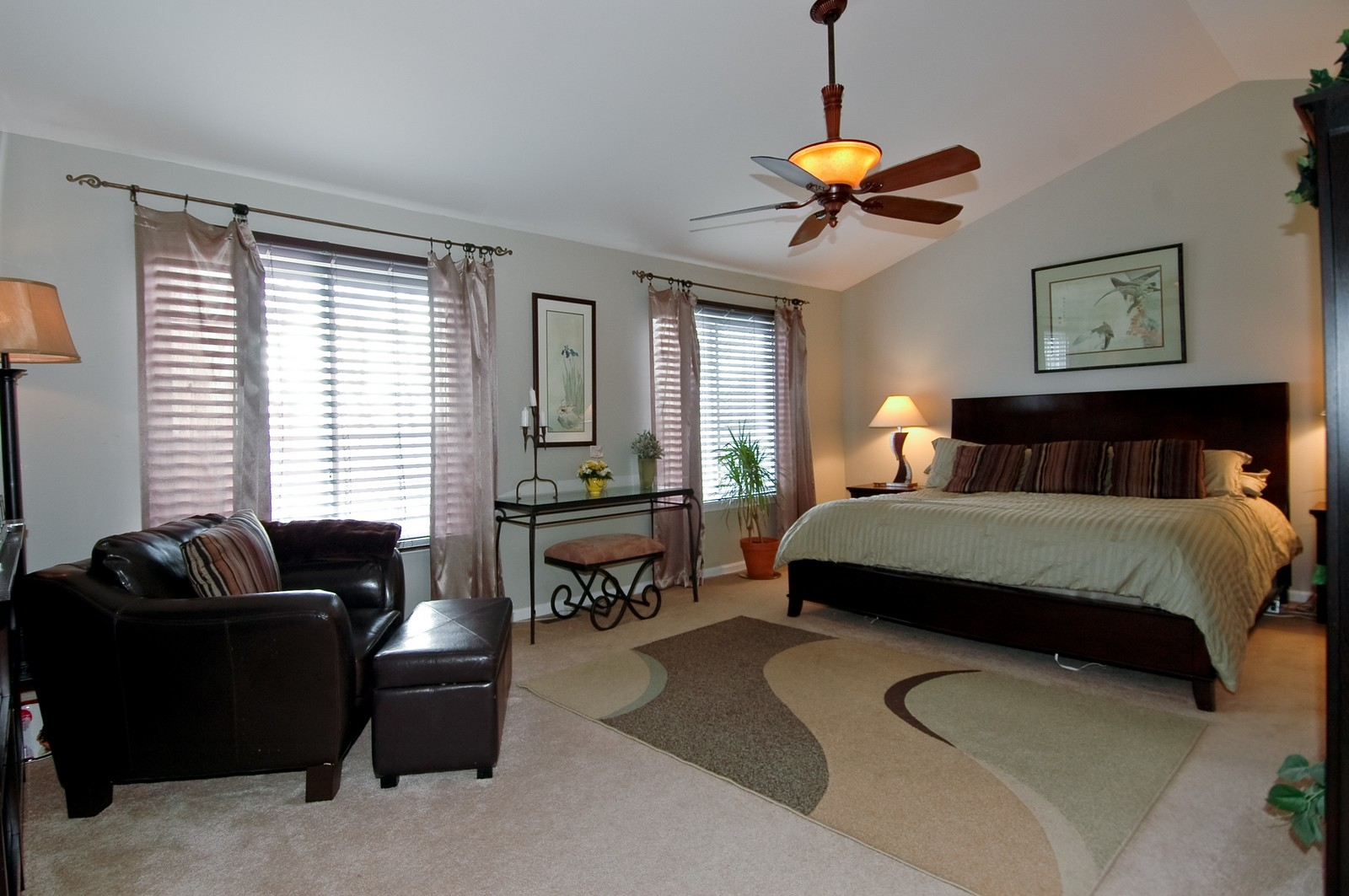 Real Estate Photography - 1581 Summerhill Ln, Cary, IL, 60013 - Master Bedroom