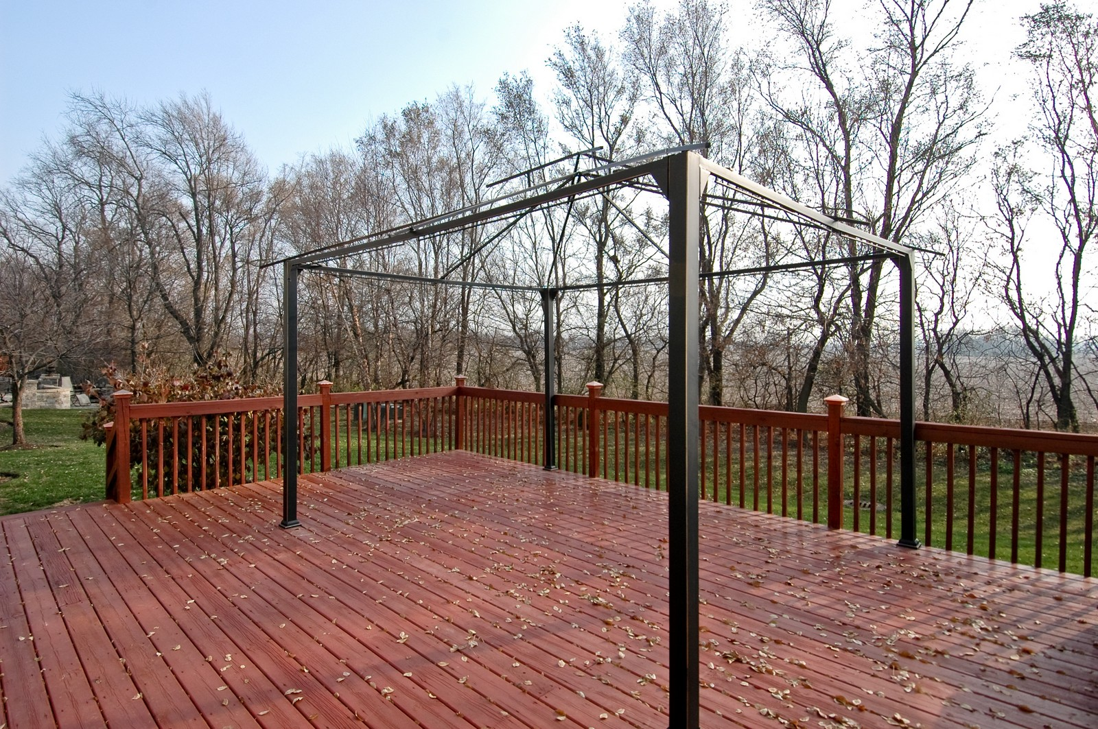 Real Estate Photography - 1581 Summerhill Ln, Cary, IL, 60013 - Deck