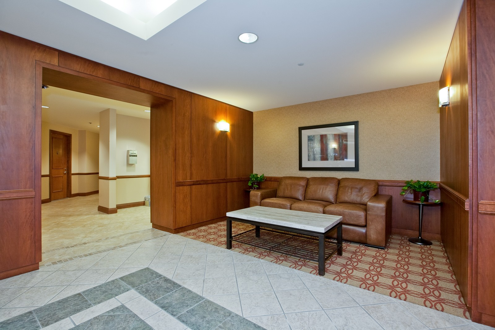 Real Estate Photography - 865 E 22nd St, Unit 510, Lombard, IL, 60148 - Lobby