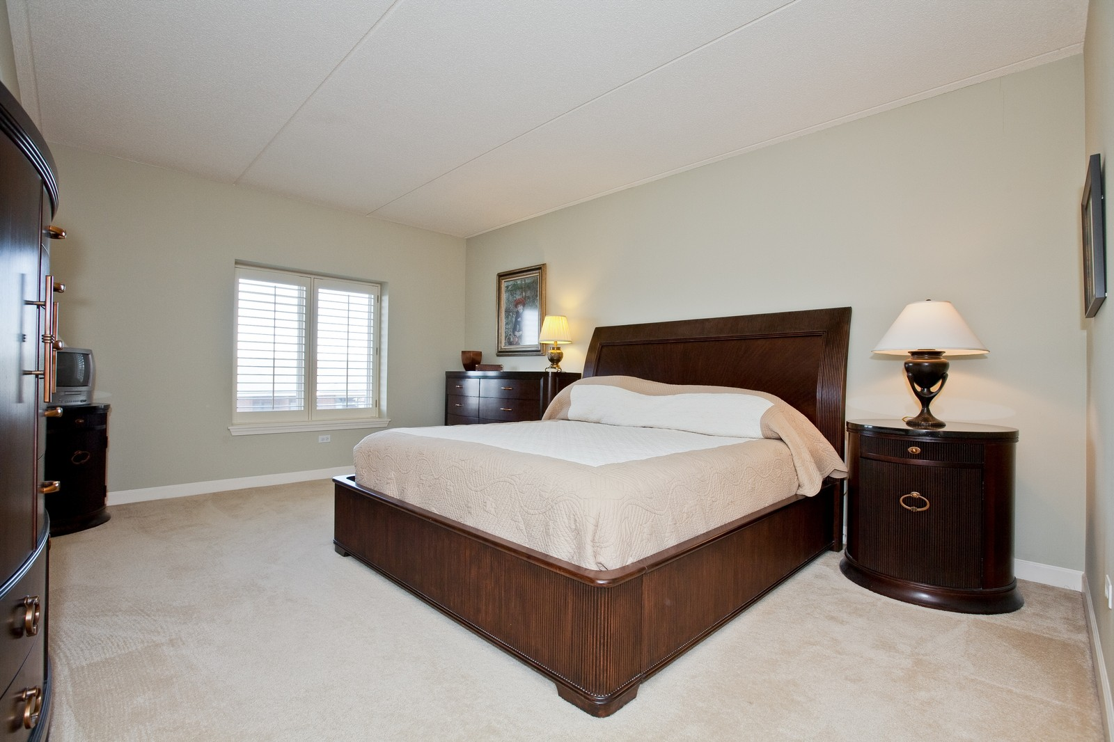 Real Estate Photography - 865 E 22nd St, Unit 510, Lombard, IL, 60148 - Master Bedroom